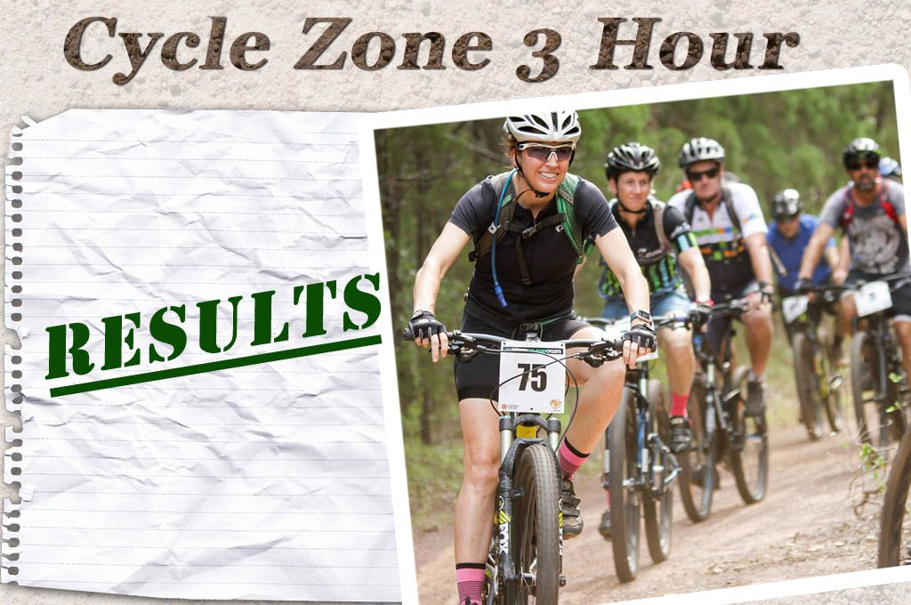Cycle Zone 3 Hour. Results are in.