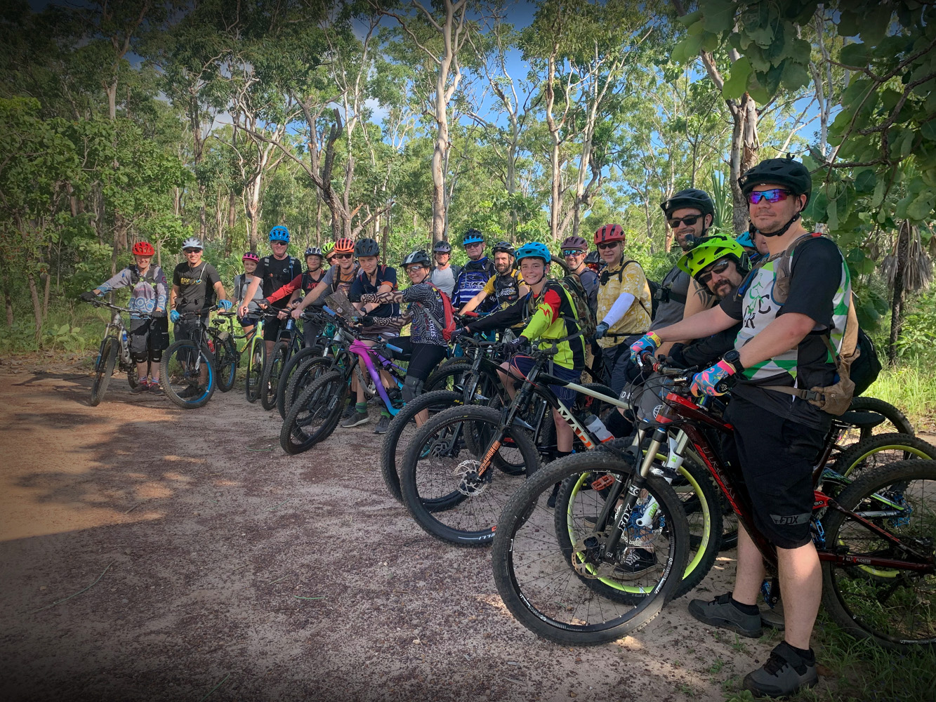 Social Ride, Charles Darwin National Park